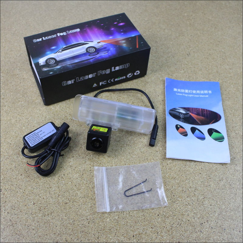 Car Tracing Cauda Laser Light For Lexus RX 450h 350 270 2010~2014 Modified Special Anti Fog Lamps Rear Anti-collision Lights for lexus rx gyl1 ggl15 agl10 450h awd 350 awd 2008 2013 car styling led fog lights high brightness fog lamps 1set