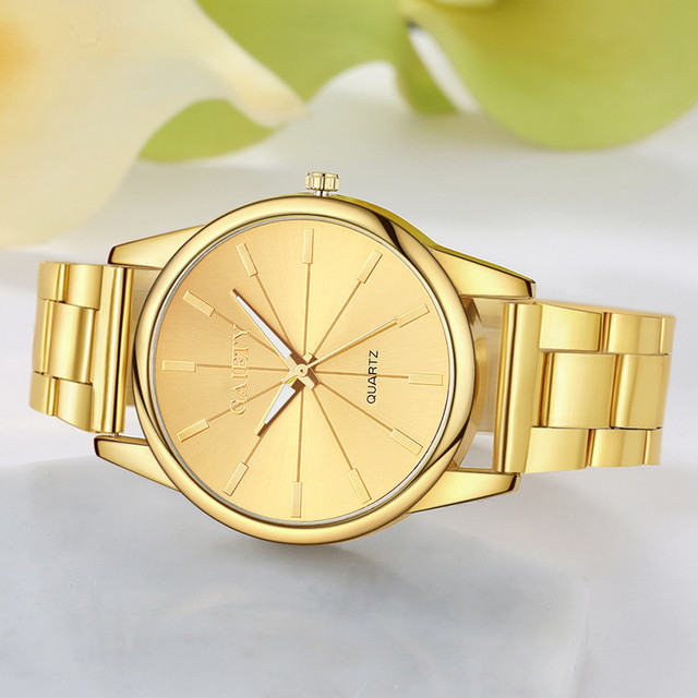 Popular Leisure Brand Luxury Watch Women Fashionable Chain Analog Quartz Round Girls Bracelet Wrist Watches zegarek damski A65