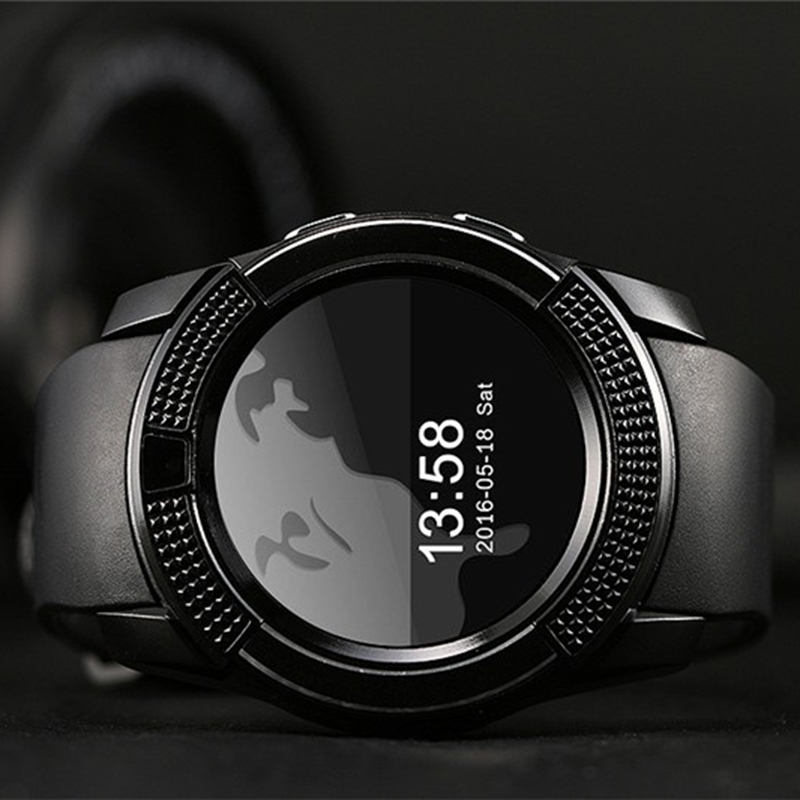 men women smart font b watch b font for android phone support SIM TF Pedometer GPRS