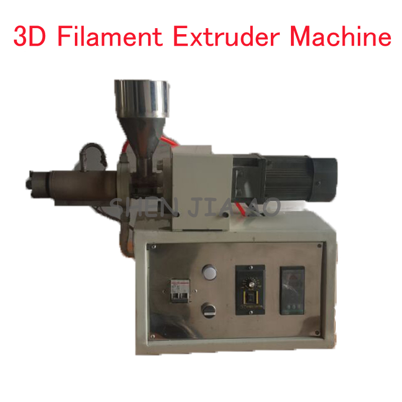 220 V 3d Filament Extruder Machine 120 W Kleine 3d Printer Filament Extruder Desktop Plastic/abs Filament Extruder