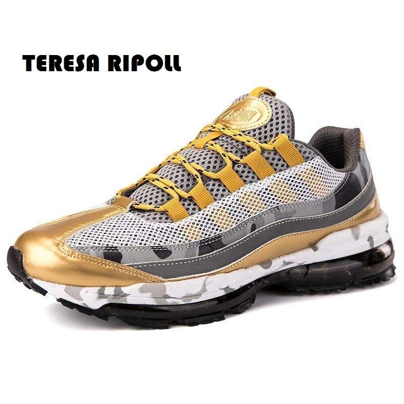 low priced 0e733 11c78 À Mode Ripoll Couleur Course D air Sport Lacets red Respirant Coussin  Teresa Hommes Sneakers De Mélangée Chaussures ...