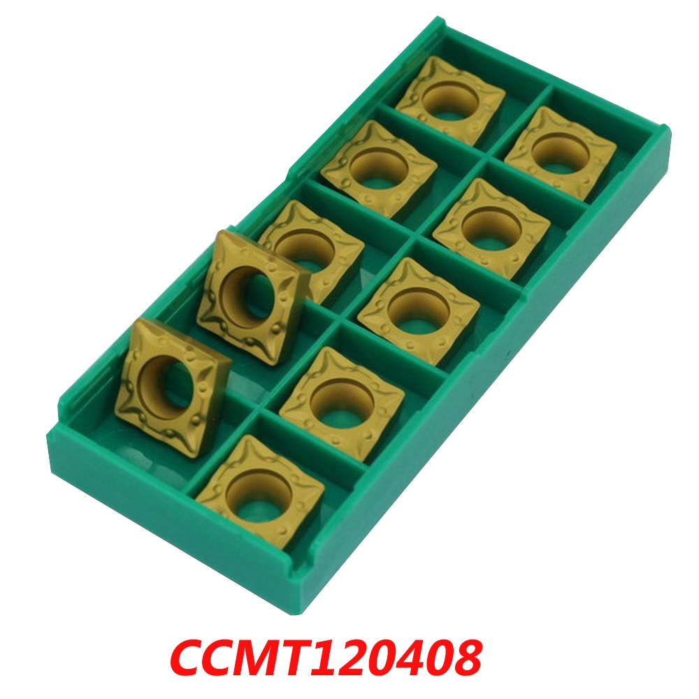 Free shipping CCMT120408 carbide inserts for face milling cutter SCLCR / RBH tools suitable for NC/CNC milling machine