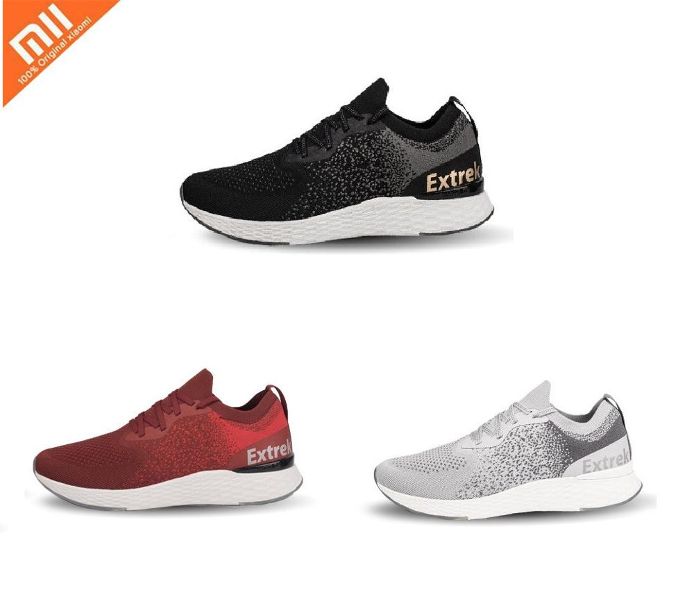 Xiaomi COOLMAX Sports Shoes Lightweight Ventilate Elastic Knitting Shoes Breathable Refreshing City Running Sneaker For ManXiaomi COOLMAX Sports Shoes Lightweight Ventilate Elastic Knitting Shoes Breathable Refreshing City Running Sneaker For Man