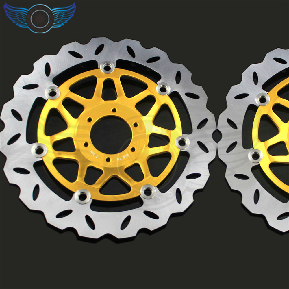 2 pieces of  motorcycle  Front Brake Discs Rotor   FOR honda CB400 1999 2000 2001 2002 2003 2004 2005 2006 2007 2008 2009 new brand motorcycle accessories front brake disc rotor for honda cb400 1999 2000 2001 2002 2003 2004 2005 2006 2007 2008 2009