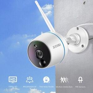 Image 2 - ZOSI ระบบกล้องวงจรปิด 1080P WiFi MINI NVR ชุดวิดีโอการเฝ้าระวังกล้อง IP ไร้สาย,PIR ฟังก์ชั่น, การบันทึกการ์ด SD