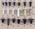 1900 PCS de Alta qualidade Do Motor Do Carro tampa barquinha bagagem tampa da mala forrada telhado rebites plásticos fastener clipes set atacado