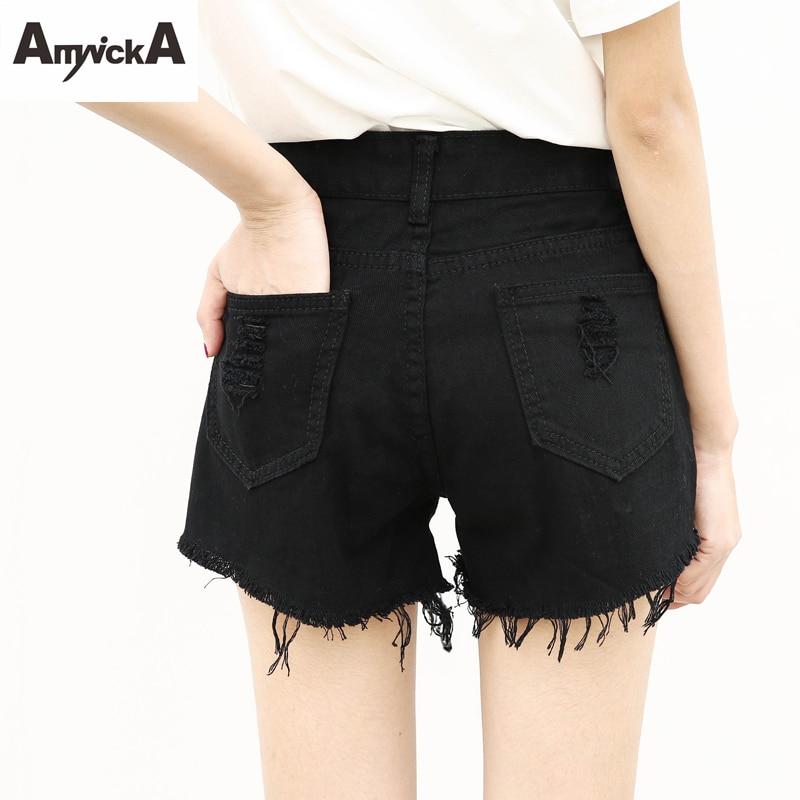 Black Jean Shorts for Women Promotion-Shop for Promotional Black ...