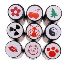 Профессиональный пластиковый мяч для гольфа штамп маркер клуб аксессуары обучение гольфу помощь подарок мячи для гольфа