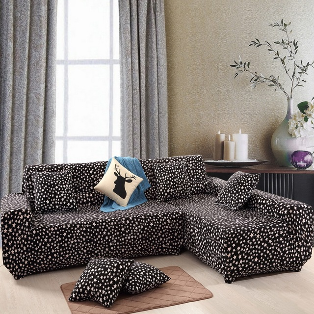 sectional couch covers L-shaped sofa cover elastic universal Wrap the entire sofa Slipcover for : l shaped sectional slipcovers - Sectionals, Sofas & Couches