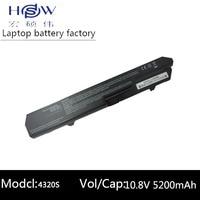 HSW 5200 mah ersatz laptop batterie forHP ProBook 4320 s  4420 s  4520 s  4525 s 587706 751 587706 761 593572 001 593573 001  BQ350AA-in Laptop-Akkus aus Computer und Büro bei