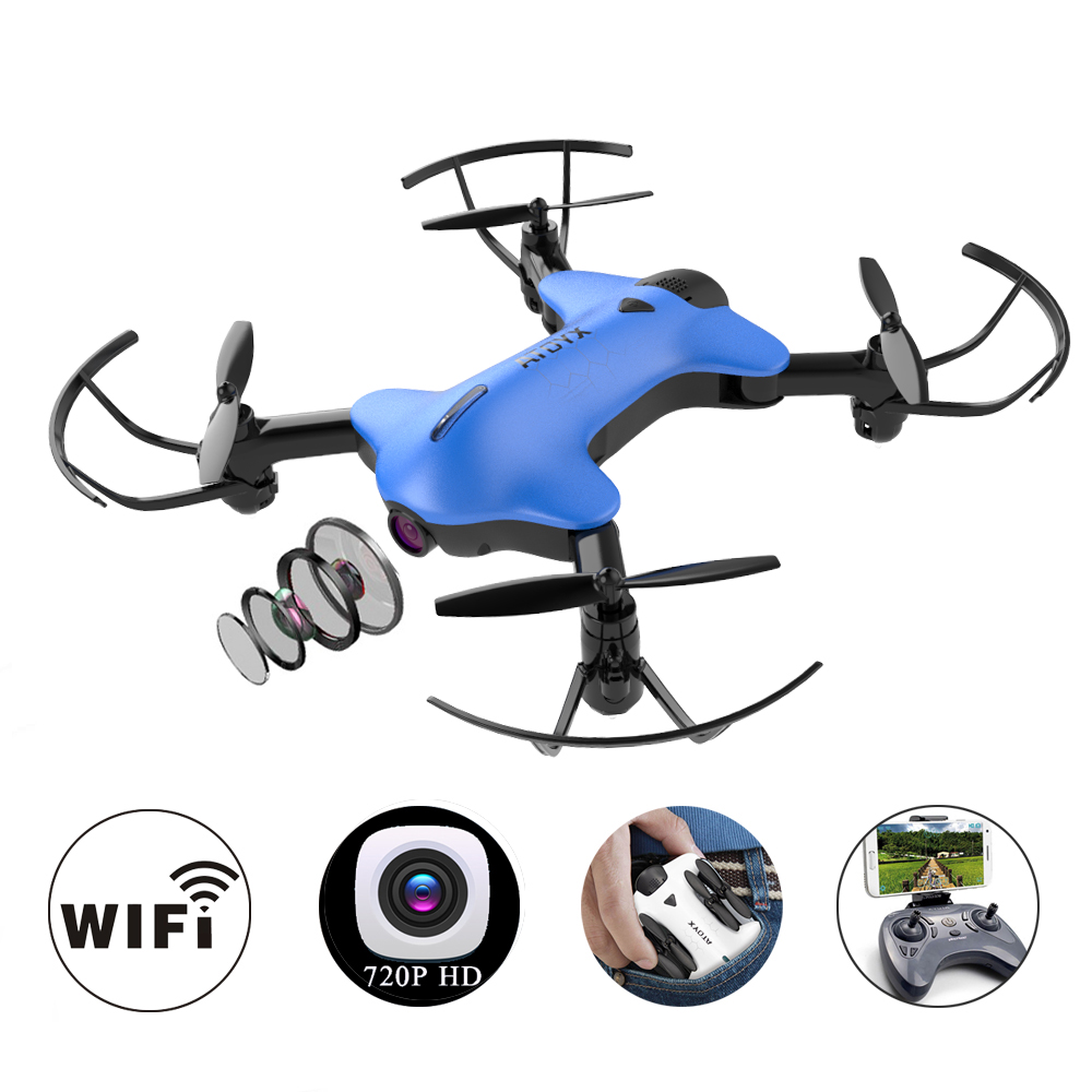Camera Drone Foldable Mini Drones With Camera Hd Wifi FPV RC Quadcopter Wide Angle High Hold Headless Mode Micro Pocket Fly Toy цена и фото