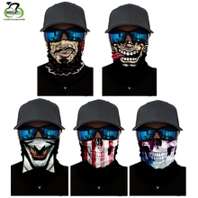 WOSAWE Cycling Face Mask Head Scarf Neck Warmer Half Mask Ski Balaclava Headband Bike Windproof Mask Accessories Bike Face bjmoto cool skeleton skull motorcycle ski headband sport outdoor neck face mask mtb racing cycling windproof scarf balaclava