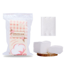 hot deal buy zd 50pcs/bag makeup cotton wipes with bag soft makeup remover pads portable facial cleansing mask paper skin care tools co1049