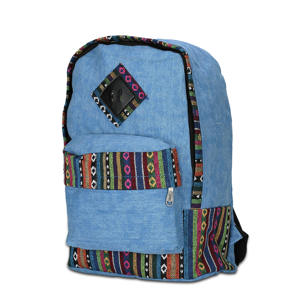 3025G/3026G Women Men Canvas Backpacks Ladies Shoulder Bag  School Bags For Girls Travel aosbos fashion portable insulated canvas lunch bag thermal food picnic lunch bags for women kids men cooler lunch box bag tote