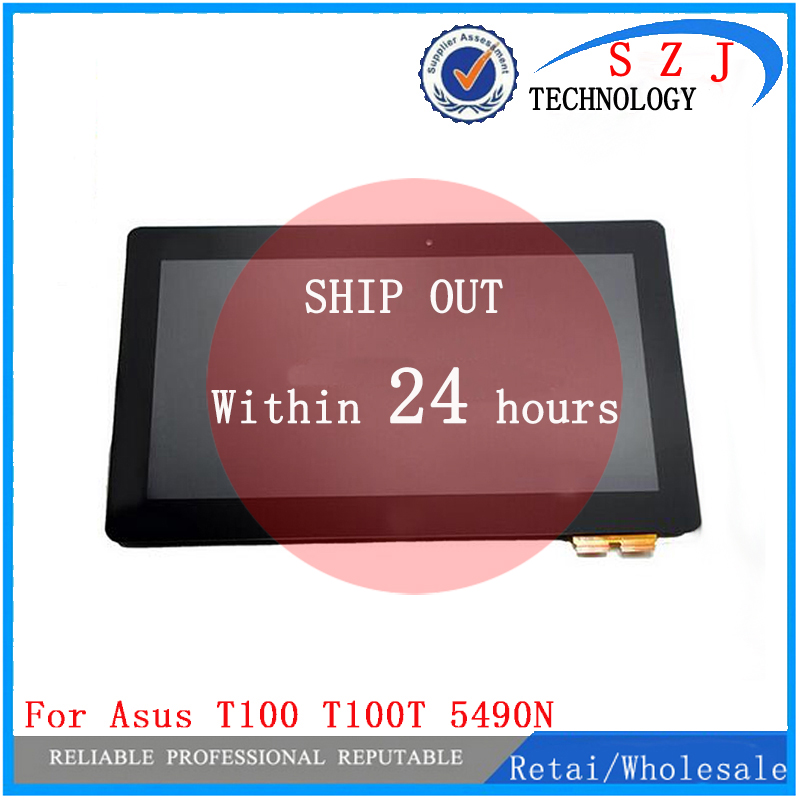 New 10.1 inch for ASUS for Transformer Book T100TA T100T T100 LCD display assembly with touchscreen and frame Free Shipping 100% original for samsung galaxy note 3 n9005 lcd display screen replacement with frame digitizer assembly free shipping