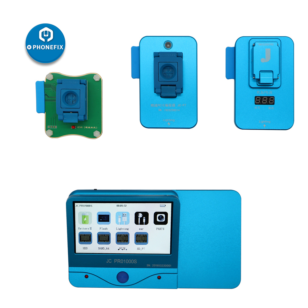 Mobile phone Chip programmer JC Pro1000S for iphone 5S 6 6P 6S 6SP 7 7P 8