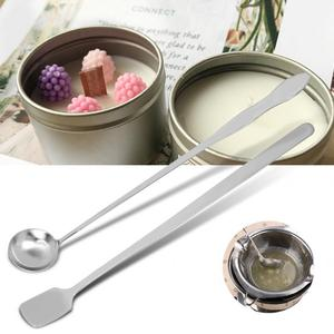 Candle Making Kit DIY Candles Long Handle Candle Mixing Spoon For Coffee Tea Wax Candle Tools Stamp Wax Seal Beads Sticks Spoon