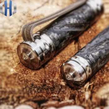 Tactical Pen Carbon Fiber Titanium Alloy Self-defense Defense Pen Attack Survival EDC Survival Pen