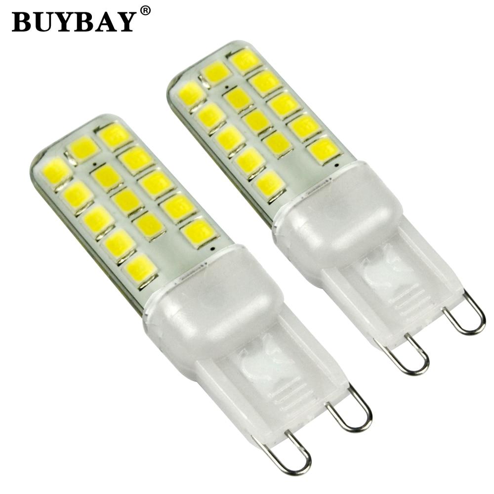 2017 new smd2835 g9 led lamp 9w 220v lampada g9 led light - Bombillas g9 led ...