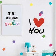 YOYOYU Wall Decal I Love You Quote Stickers For Bedroom Home Decoration Accessories Fashion Modern Design Decor DIY ZW277