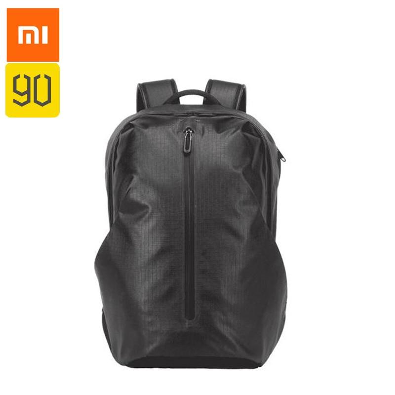 3964a4ac3128 US $37.59 15% OFF|Xiaomi 90 Fun All weather Function City Backpack WomenMen  Mochila Waterproof Notebook Computer Rucksack School Bag For Teenagers-in  ...