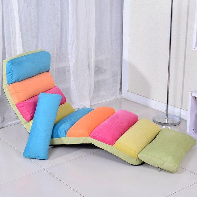 Moderno piso asientos Muebles salón perezoso cama de día cama ...