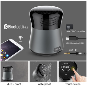 Image 5 - Mifa A3 altoparlanti Bluetooth di Tocco di Controllo Senza Fili Altoparlante Portatile HiFi 3D Stereo di Sostegno Carta di TF AUX Vivavoce Con Microfono