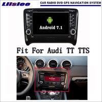Android 7.1 2 г Оперативная память для Audi TT TTS 2006 ~ 2012 Радио Аудио Видео Мультимедиа dvd плеер WI FI DVR GPS Navi навигации
