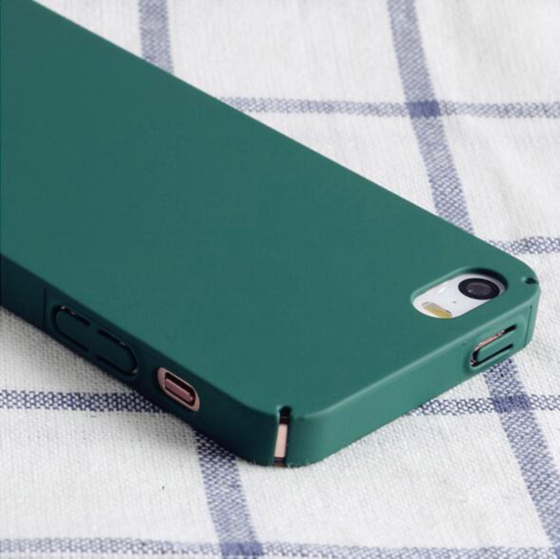 the best attitude f266d 80335 Colorful Hard Plastic Cases For Iphone 7 6 6S 5 5S SE Phone Bags Anti-Knock  Contracted Style Covers For Apple Iphone 6S 6 8 Plus