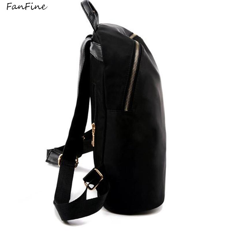 FanFine Fashion Backpack Women Backpacks pu Leather School Bags For Girls Travel Shoulder Bag Female High Quality Daily Daypacks