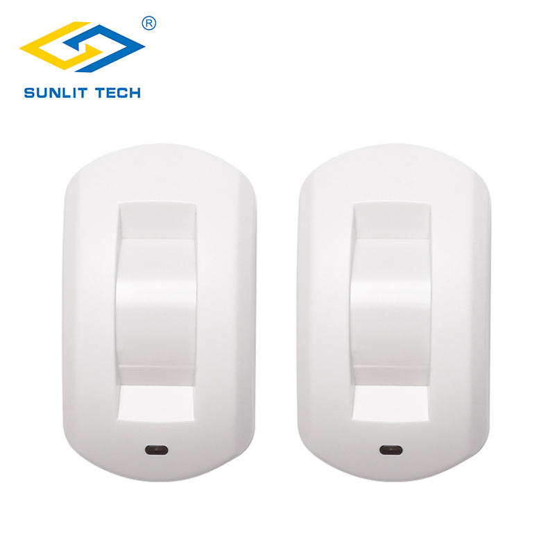 2pcs/Lot Wired Curtain Window PIR Motion Sensor Ceiling Passive Infrared Motion Detector For Home Burglar Alarm Security System safurance 90db security burglar infrared motion sensor detector pir alarm home shed garage for home security safety