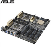 original Used Server motherboard For ASUS Z10PE D8 WS C612 Support 2011 E5 2600 V3 Maximum 8*DDR4 512GB 8*SATAIII 1*M.2 ATX