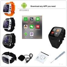3g sim android smart watch ordro sw16 android 4.4 smartwatch teléfono MTK6572 Dual Core 1.0 GHz IP67 A Prueba de agua WiFi GPS 3MP cámara