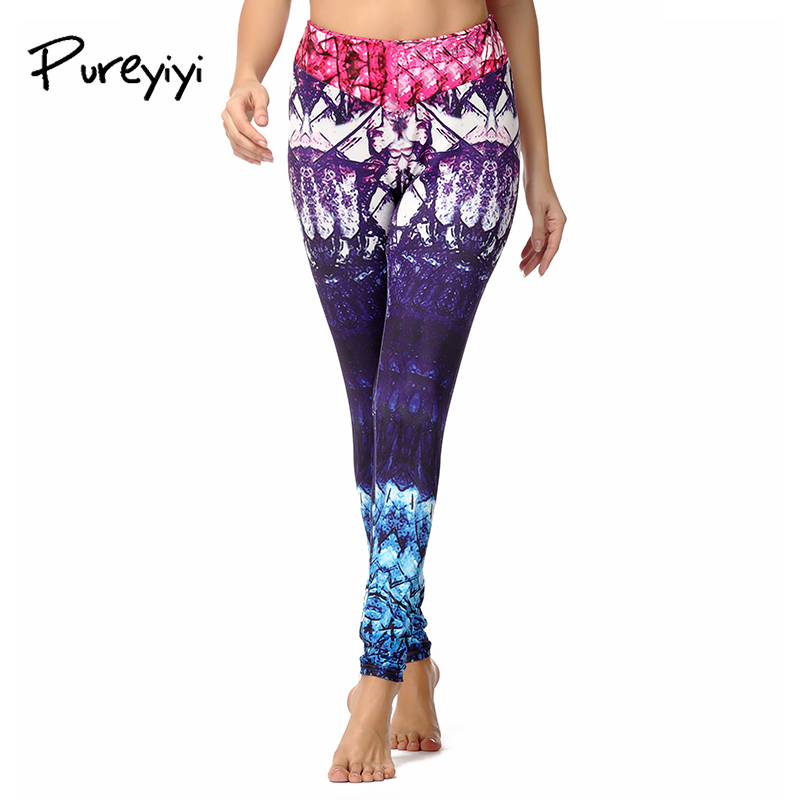 Yoga pants Running tights Women Fitness leggings Gym sportswear quick dry femme sports clothing training pants workout trousers