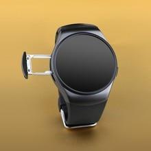 LENCISE LO18 Bluetooth Smart Uhr Vollbild Smartwatch Telefon Unterstützung SIM Karte Schrittzähler Pulsmesser für Apple Android