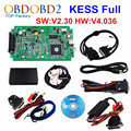 Best Quality KESS V2 V2.30 OBD2 Manager Tuning Kit HW V4.036 KESS V2 No Tokens Limited Master Version Updated By Link DHL Free