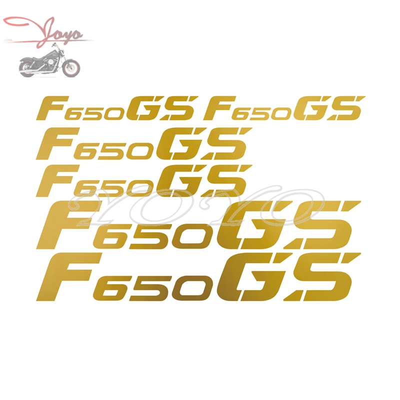 Motorcycle Luggage Box Stickers Saddlebag Decals Logo Sticker For BMW F650GS Universal