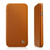 Jisoncase Flip Genuine Leather Mobile Phone Case For IPhone 6 6S 4 7 Inch Cover Cases