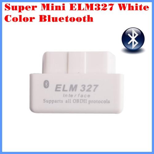 Diagnostic Tool Code Reader Super mini ELM327 Bluetooth OBD-II OBD Can White color 2.1 version