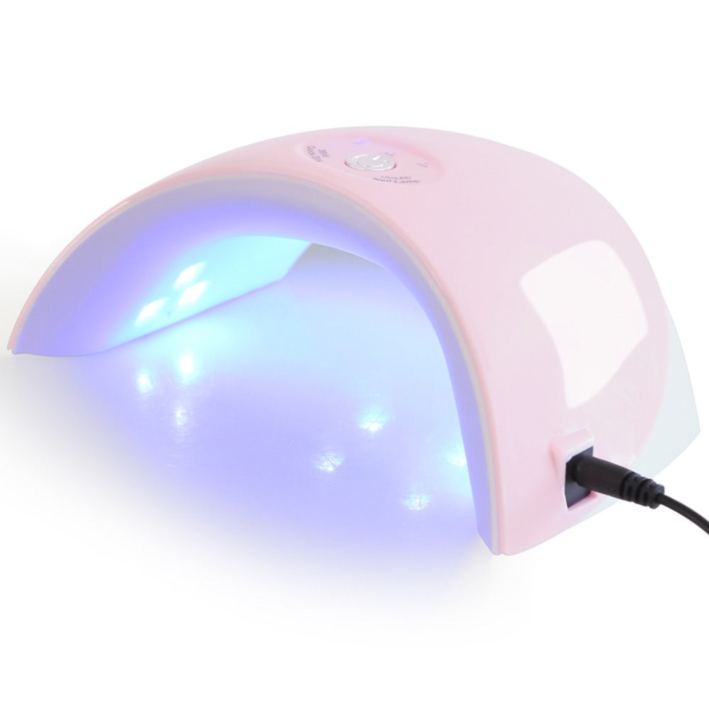Lamp For Nail 36W UV LED Lamp Nail Dryer For All Types Gel 12 LEDs UV Lamp for Nail Machine Curing 60s/120s Timer USB Connector