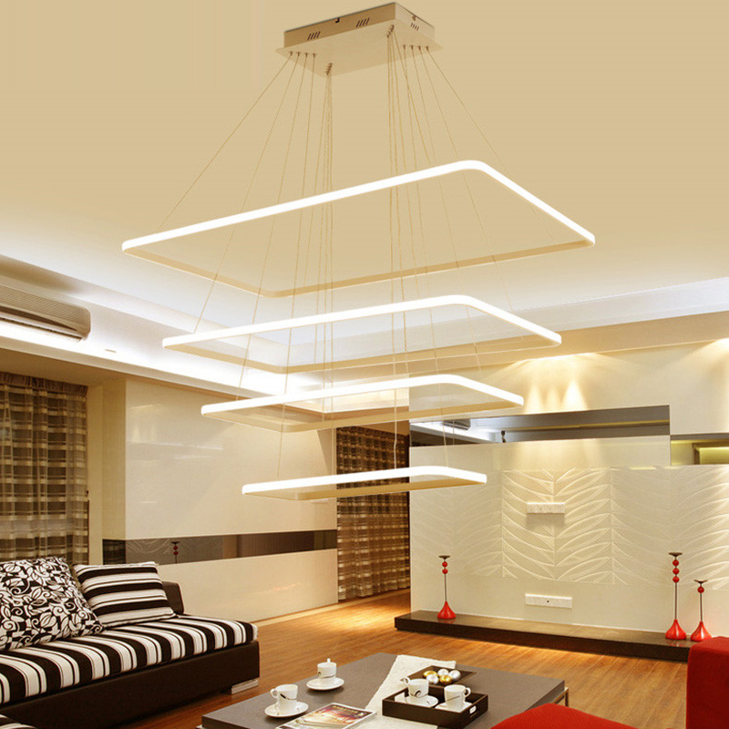 Living room lighting post-modern minimalist creative personality art LED lighting study Nordic restaurant chandeliers z post modern luxury villas led chandeliers creative silver gold living room dining room study of spherical personality lamps
