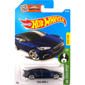Горячие Продажи Hot Wheels 2016 Tesla model S синий автомобили Модели Металл Литья Под Давлением Автомобиль Коллекция Детей Игрушки Автомобиля Для Детей