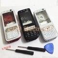 Новый Полный Полный Мобильный Телефон Крышка Корпуса Чехол + Клавиатура Для Nokia N73 + Инструменты + Отслеживая