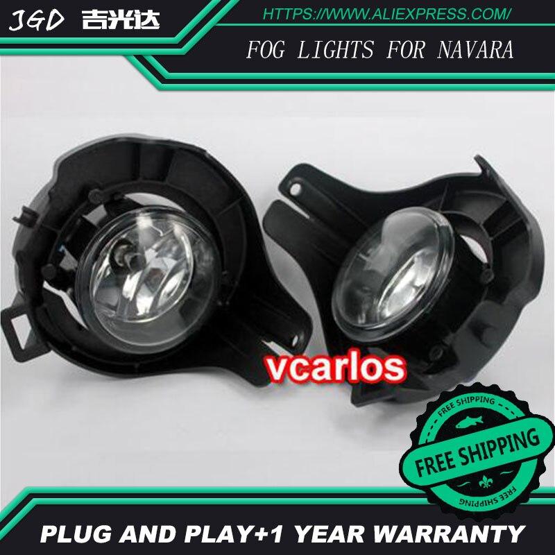 Phare anti-brouillard halogène 2 pièces/paire pour Nissan Navara 2011 phare anti-brouillard halogène haute puissance