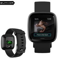 BUMVOR gps sports track blood pressure blood oxygen heart rate monitoring bracelet IP67 fitness smart watch smart belt