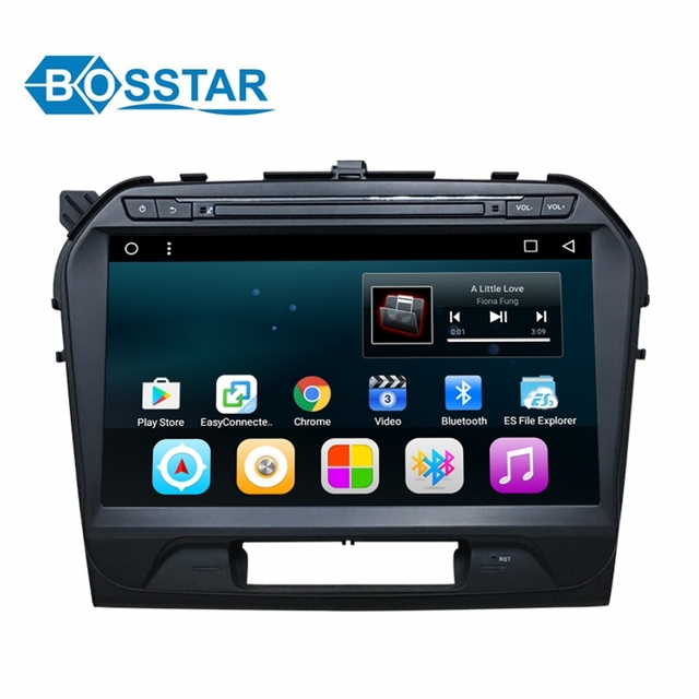 Bosstar 10inch Touch Screen Android Car Radio For Suzuki Vitara Built In Wifi Bluetooth Multimedia