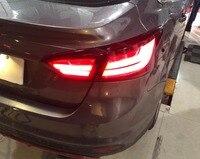 Автомобильный Стайлинг для Ford Focus 2012 2013 2014 огни, выделенный Автомобильный свет, светодиодные задние фонари в сборе с hid kit 2шт
