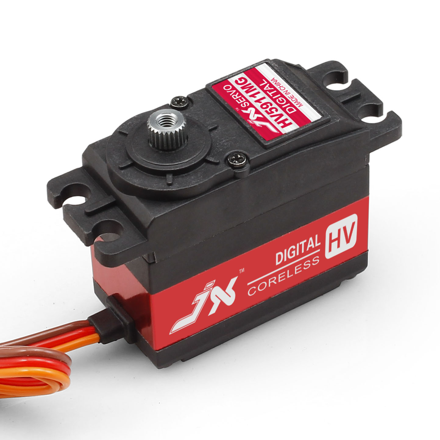 Superior Hobby Jx PDI-HV5911MG 11KG High Precision Metal Gear High Voltage Digital Coreless Standard Servo superior hobby jx bls hv6105mg 5kg high precision metal gear high voltage brushless digital gyro servo