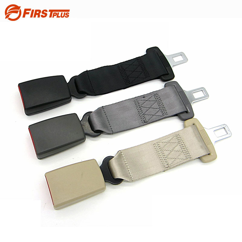 E24 Safe Car Seat Belt Extenders Safety Belts Extension For Cars Automotive Extended Seatbelt For Child Seats Black Gray Beige