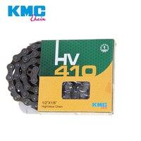 KMC HV410 все односкоростные приводные системы велосипедные цепи Dead Fly велосипед складной велосипед городская Повседневная велосипед 112L серый ...